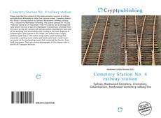 Bookcover of Cemetery Station No. 4 railway station