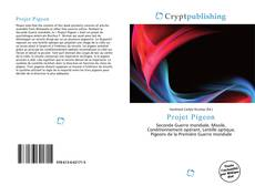 Bookcover of Projet Pigeon