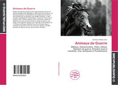 Bookcover of Animaux de Guerre