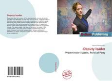 Buchcover von Deputy leader