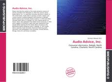 Portada del libro de Audio Advice, Inc.
