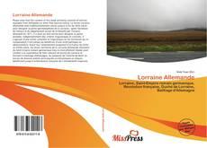 Couverture de Lorraine Allemande
