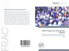 Portada del libro de 2006 Progressive Enterprises dispute