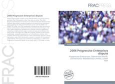 Capa do livro de 2006 Progressive Enterprises dispute