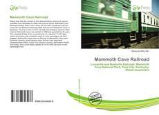 Portada del libro de Mammoth Cave Railroad