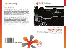 Couverture de Altor Networks