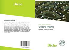 Bookcover of Citizens Theatre