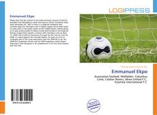 Bookcover of Emmanuel Ekpo