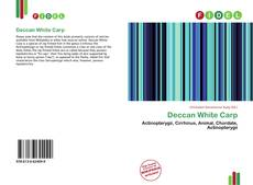 Bookcover of Deccan White Carp