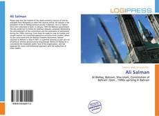 Capa do livro de Ali Salman