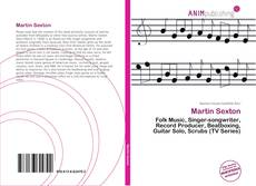 Capa do livro de Martin Sexton