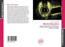 Capa do livro de Marlon Saunders