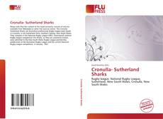 Bookcover of Cronulla- Sutherland Sharks