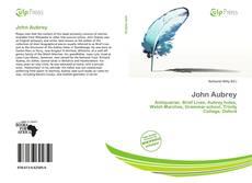 John Aubrey kitap kapağı