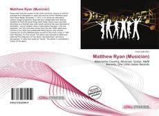 Portada del libro de Matthew Ryan (Musician)