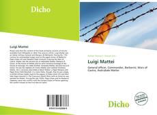 Portada del libro de Luigi Mattei