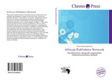 Bookcover of African Publishers Network