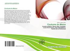 Bookcover of Coutume du Maine