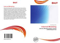 Bookcover of Internet Modeling