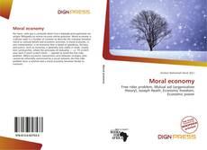 Portada del libro de Moral economy