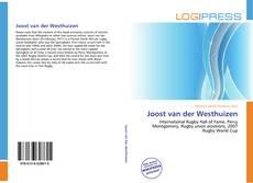 Обложка Joost van der Westhuizen