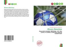 Bookcover of Álvaro Sánchez