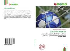 Capa do livro de Álvaro Sánchez