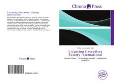 Capa do livro de Licensing Executives Society International