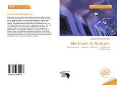 Portada del libro de Maitham Al Bahrani