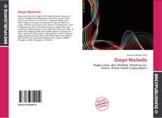 Capa do livro de Gwyn Nicholls