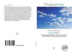 Buchcover von Jean Wahl