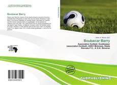 Capa do livro de Boubacar Barry