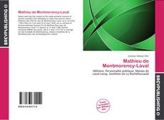 Bookcover of Mathieu de Montmorency-Laval