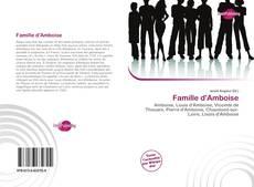 Capa do livro de Famille d'Amboise