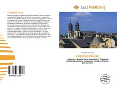 Buchcover von Logement Social