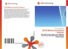 Bookcover of 2010 Melbourne Storm Season