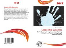 Bookcover of Leadership Dynamics