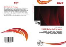 Bookcover of 2007 Rally de Portugal