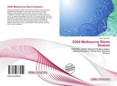 Bookcover of 2006 Melbourne Storm Season