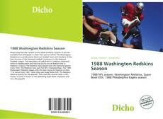 1988 Washington Redskins Season kitap kapağı