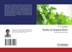Bookcover of Studies on Scoparia Dulcis
