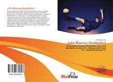 Portada del libro de John Rooney (footballer)