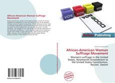 Buchcover von African-American Woman Suffrage Movement