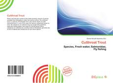 Bookcover of Cutthroat Trout