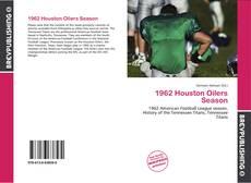 Bookcover of 1962 Houston Oilers Season