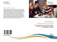 Bookcover of Restaurant Universitaire