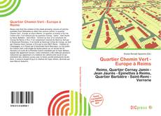 Capa do livro de Quartier Chemin Vert - Europe à Reims