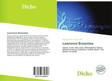 Bookcover of Lawrence Brownlee