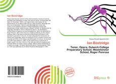 Ian Bostridge kitap kapağı