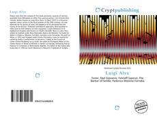 Portada del libro de Luigi Alva